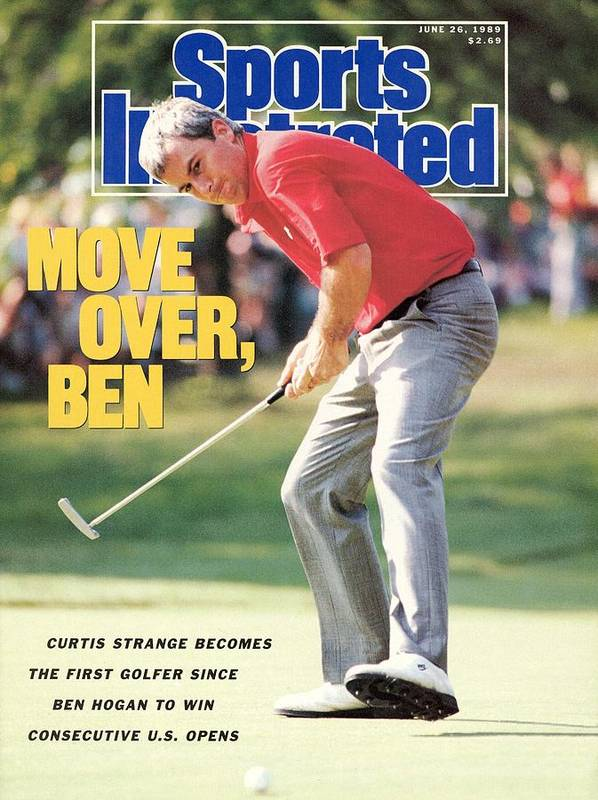 1980-1989 Poster featuring the photograph Curtis Strange, 1989 Us Open Sports Illustrated Cover by Sports Illustrated