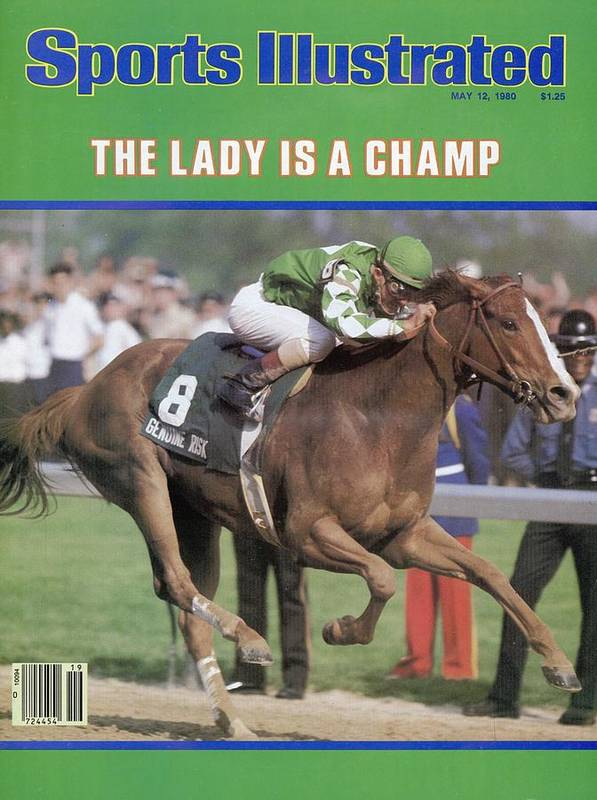 Horse Poster featuring the photograph Genuine Risk, 1980 Kentucky Derby Sports Illustrated Cover by Sports Illustrated