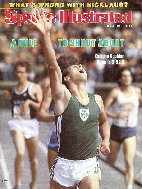 Magazine Cover Poster featuring the photograph Ireland Eamonn Coghlan, 1979 Brooks Meet Of Champions Sports Illustrated Cover by Sports Illustrated