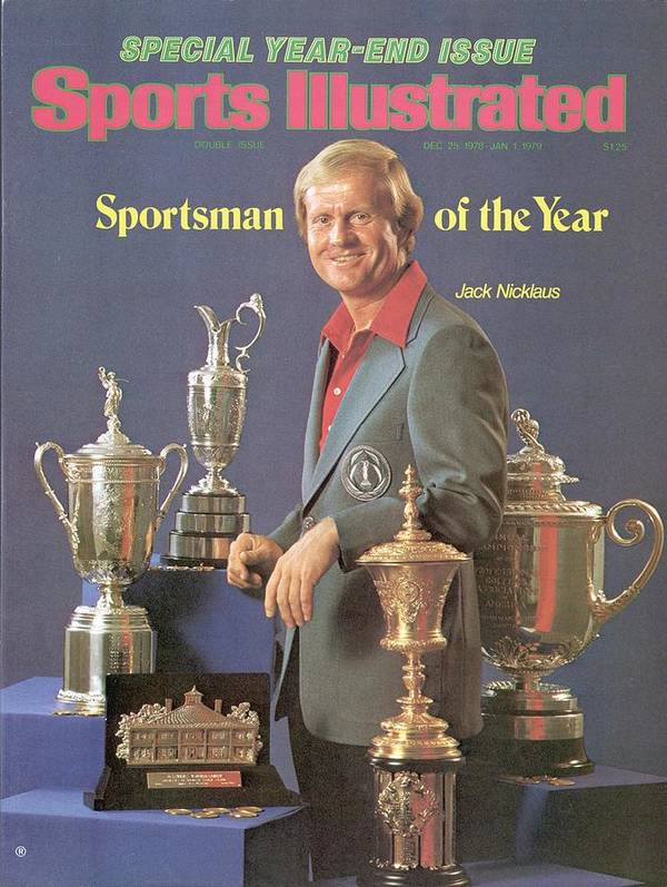 Magazine Cover Poster featuring the photograph Jack Nicklaus, 1978 Sportsman Of The Year Sports Illustrated Cover by Sports Illustrated