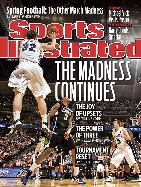 Playoffs Poster featuring the photograph Ncaa Basketball Tournament - Third Round - Denver Sports Illustrated Cover by Sports Illustrated