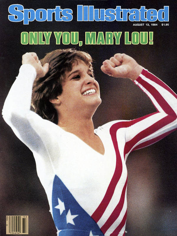 Magazine Cover Poster featuring the photograph Only You, Mary Lou Sports Illustrated Cover by Sports Illustrated