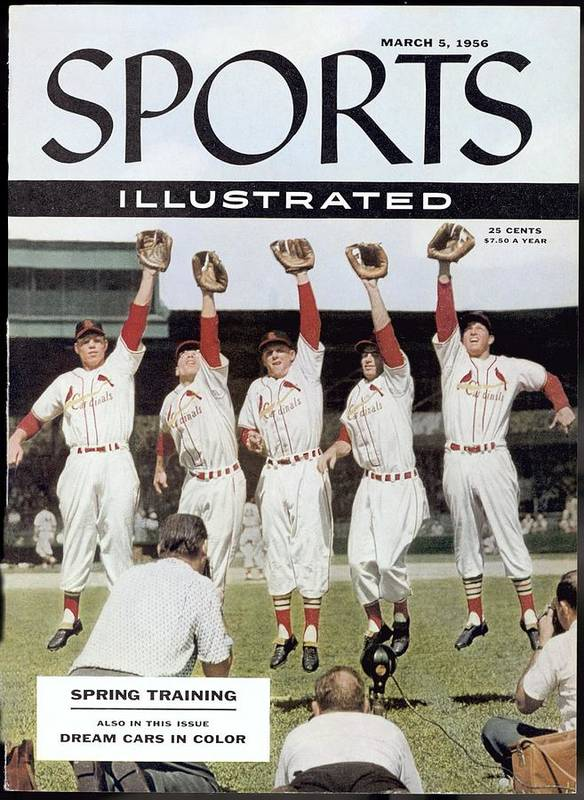 St. Louis Cardinals Poster featuring the photograph St. Louis Cardinals Sports Illustrated Cover by Sports Illustrated