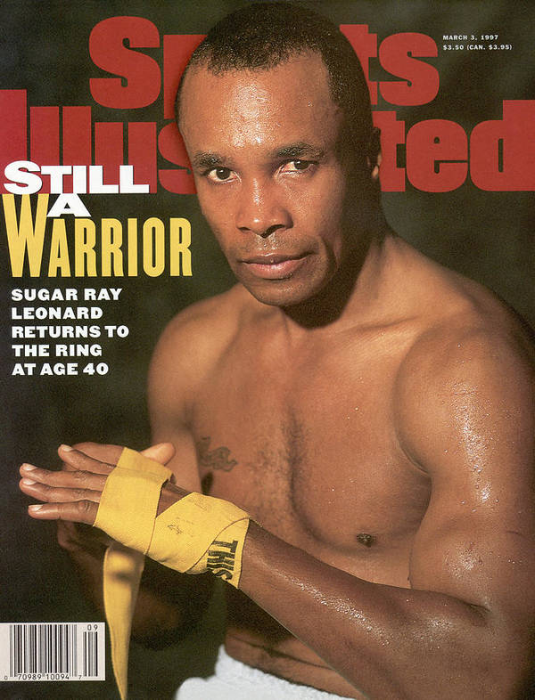 Event Poster featuring the photograph Sugar Ray Leonard, Middleweight Boxing Sports Illustrated Cover by Sports Illustrated