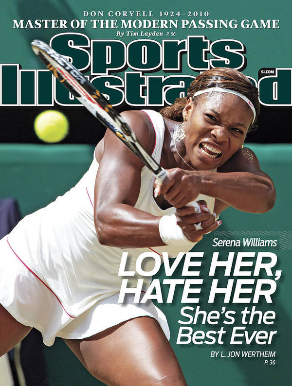 Tennis Poster featuring the photograph The Championships - Wimbledon 2010 Day Twelve Sports Illustrated Cover by Sports Illustrated