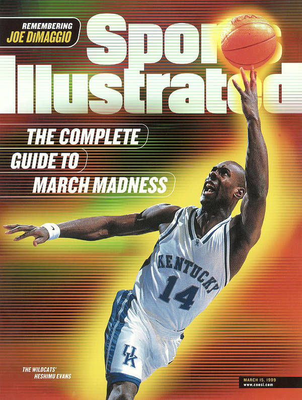 United Center Poster featuring the photograph The Complete Guide To March Madness Sports Illustrated Cover by Sports Illustrated