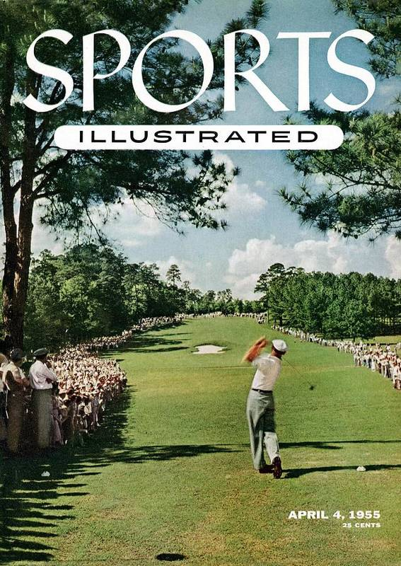 Magazine Cover Poster featuring the photograph Ben Hogan, 1954 Masters Tournament Sports Illustrated Cover by Sports Illustrated