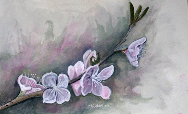 Rick Huotari Poster featuring the painting Spring Splendor by Rick Huotari