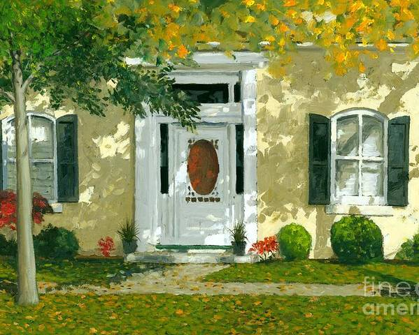 Autumn Poster featuring the painting Autumn Sunlight by Michael Swanson