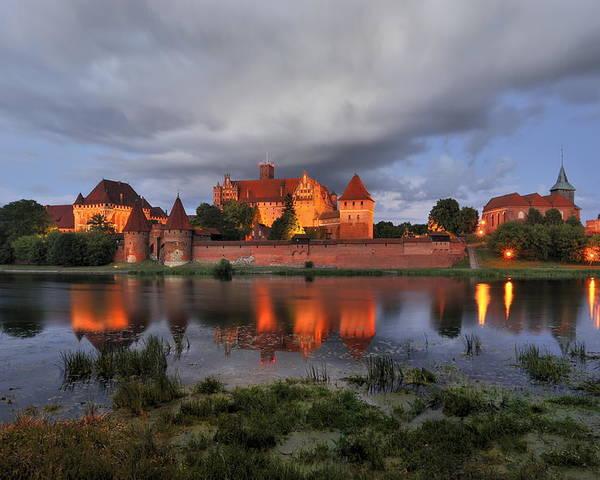 A Huge Castle Poster featuring the photograph Castle by Jan Sieminski
