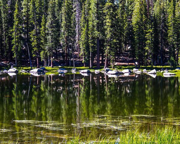 Yosemite Poster featuring the photograph Granite Reflections by Brian Williamson
