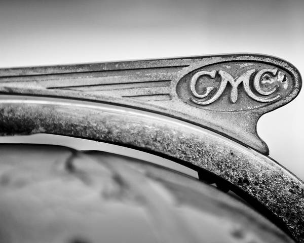 1938 Gmc Hood Ornament Poster featuring the photograph 1938 Gmc Hood Ornament by Jill Reger