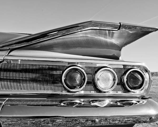 1960 Chevrolet Impala Resto Rod Taillight Poster featuring the photograph 1960 Chevrolet Impala Resto Rod Taillight by Jill Reger
