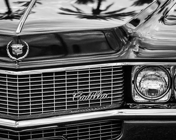 1969 Cadillac Eldorado Grille Poster featuring the photograph 1969 Cadillac Eldorado Grille by Jill Reger