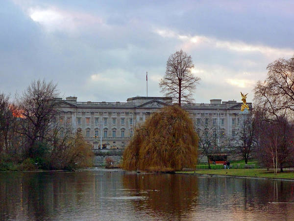 Buckingham Palace Poster featuring the photograph Buckingham Palace by Lynn Bolt