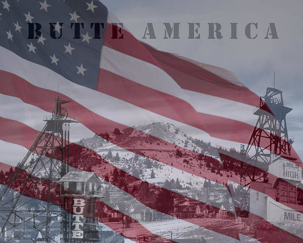 Butte America Photographs Poster featuring the photograph Butte America by Kevin Bone