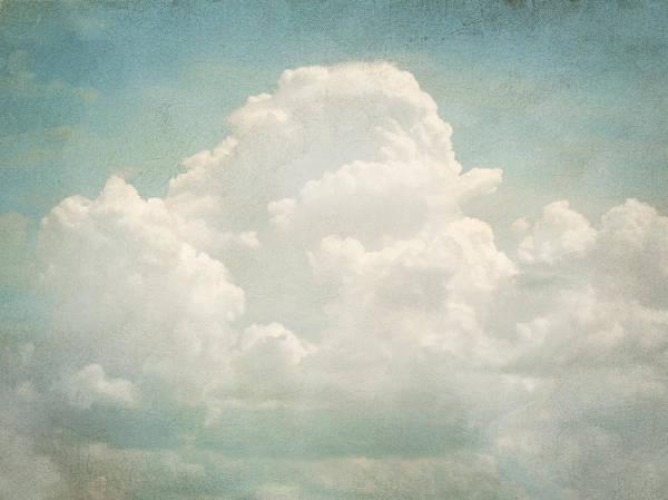 Brett Poster featuring the digital art Cloud Series 3 Of 6 by Brett Pfister