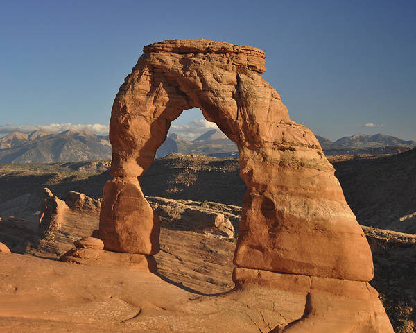 Arch Poster featuring the photograph Delicate Arch by Frank Burhenn
