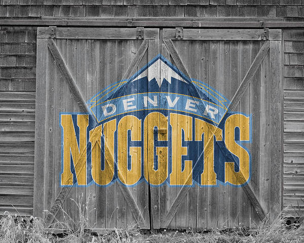 Nuggets Poster featuring the photograph Denver Nuggets by Joe Hamilton