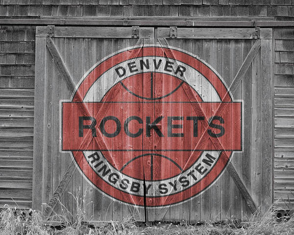 Nuggets Poster featuring the photograph Denver Rockets by Joe Hamilton