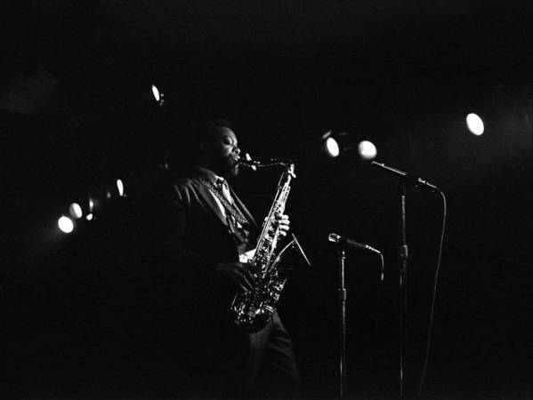 Jazz Poster featuring the photograph Dewey Redman by Lee Santa