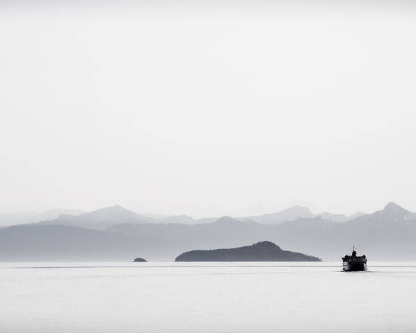 Juneau Poster featuring the photograph Inside Passage Alaska by Carol Leigh