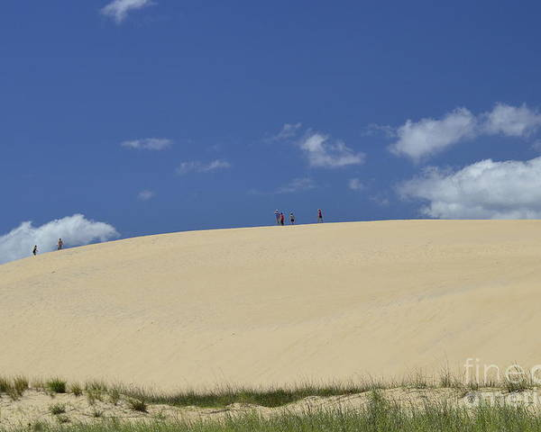 Jockey's Ridge State Park Poster featuring the photograph Jockey's Ridge State Park by Allen Beatty