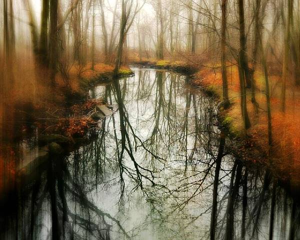 River Poster featuring the photograph Just One Wish by Diana Angstadt