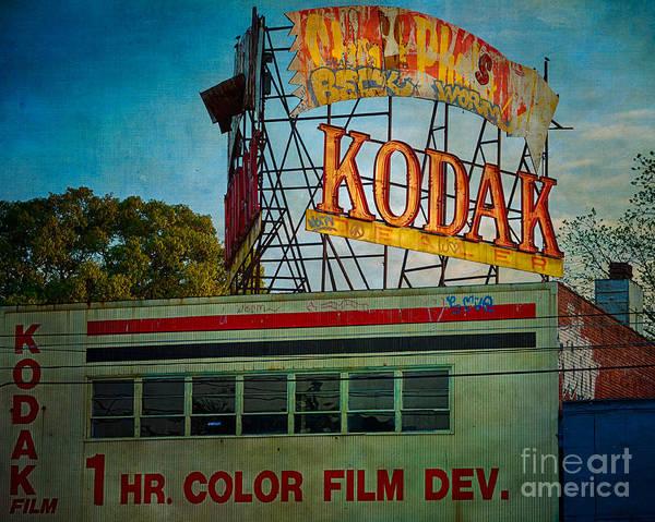 Kodak Poster featuring the photograph Kodak's Moment by Doug Sturgess