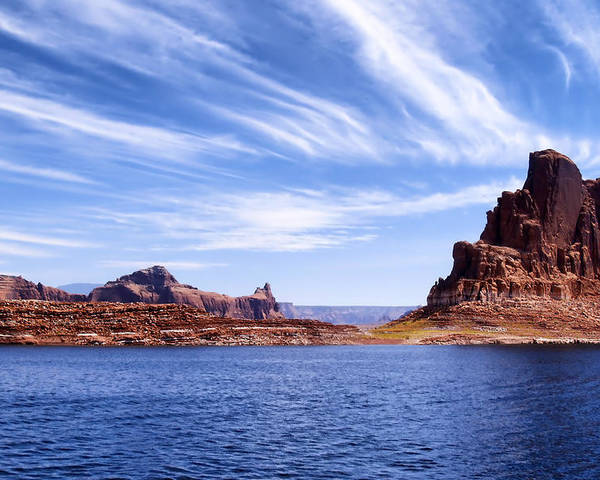 Lake Powell Poster featuring the photograph Lake Powell by Mountain Dreams