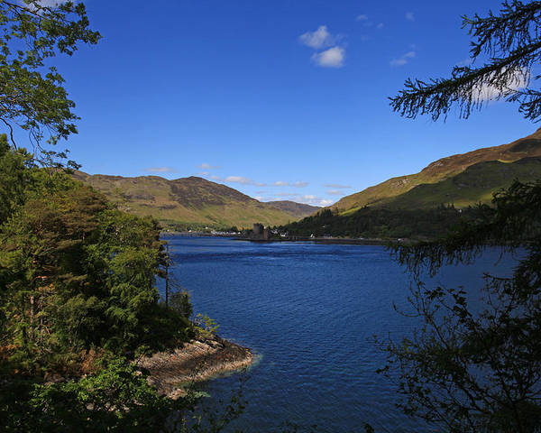 Scotland Poster featuring the photograph Loch Duich Scotland by Ollie Taylor