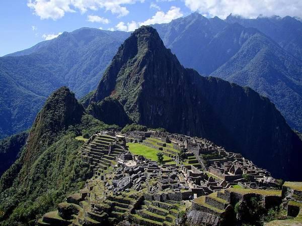 Machu Picchu Poster featuring the photograph Machu Picchu by JG Photography