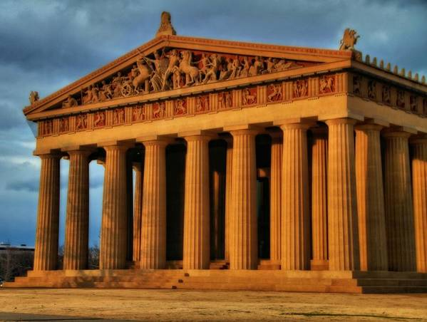 Parthenon Poster featuring the photograph Parthenon by Dan Sproul