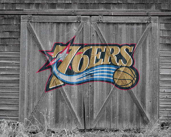 76ers Poster featuring the photograph Philadelphia 76ers by Joe Hamilton
