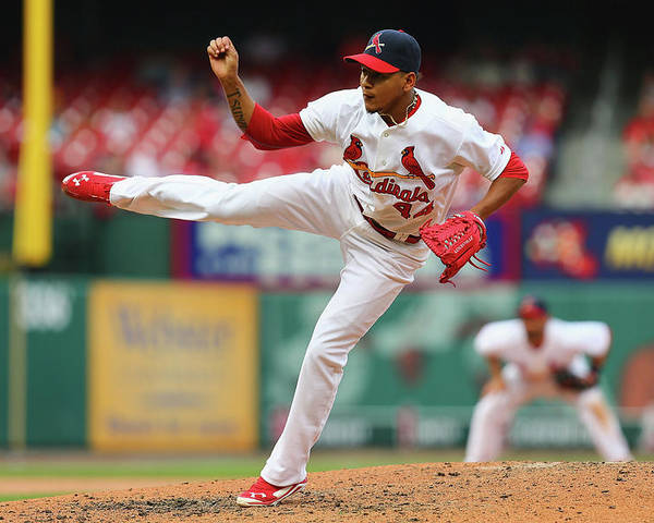 St. Louis Cardinals Poster featuring the photograph Pittsburgh Pirates V St. Louis Cardinals by Dilip Vishwanat