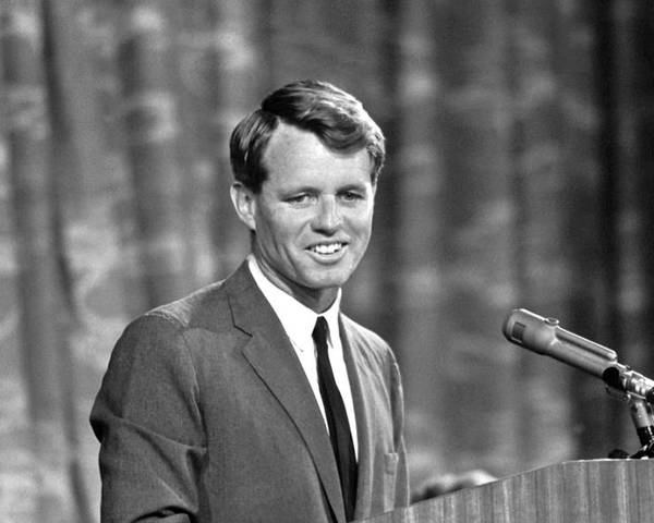 1964 Poster featuring the photograph Robert F. Kennedy by Granger