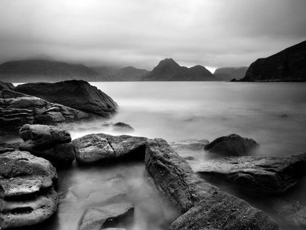 Scotland Poster featuring the photograph Scotland Elgol by Nina Papiorek