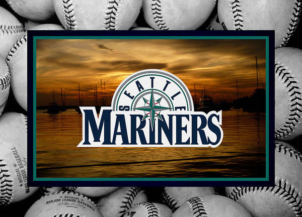 Mariners Poster featuring the photograph Seattle Mariners by Joe Hamilton