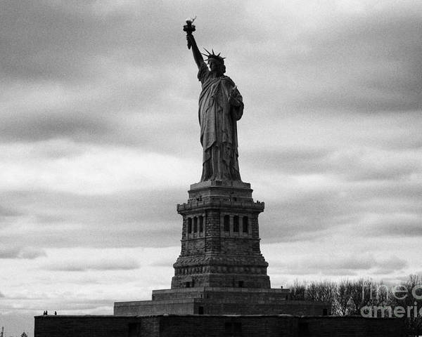 Usa Poster featuring the photograph Statue Of Liberty National Monument Liberty Island New York City by Joe Fox