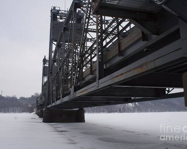 Stillwater Poster featuring the photograph Stillwater Lift Bridge by Kevin Jack