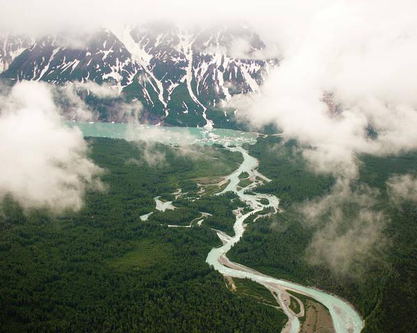 Alaska - Usa State Poster featuring the photograph Tatshenshini River by Glenn Oakley