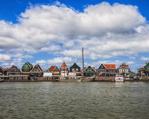 Volendam Poster featuring the photograph Volendam by Joana Kruse