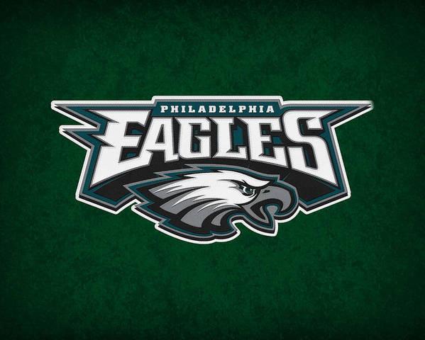 Eagles Poster featuring the photograph Philadelphia Eagles by Joe Hamilton