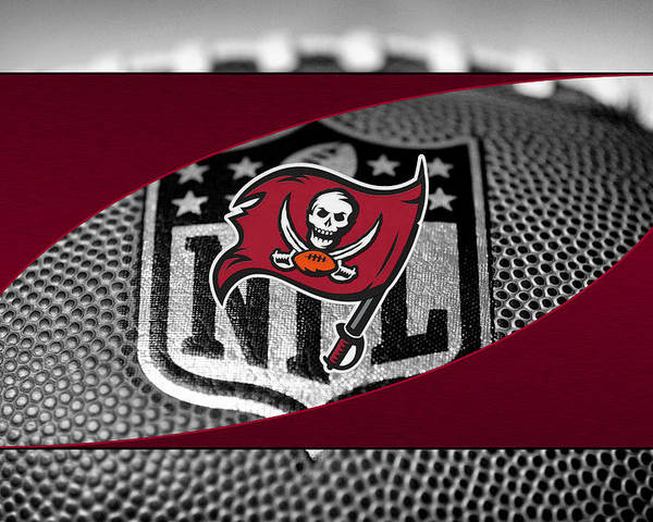 Buccaneers Poster featuring the photograph Tampa Bay Buccaneers by Joe Hamilton