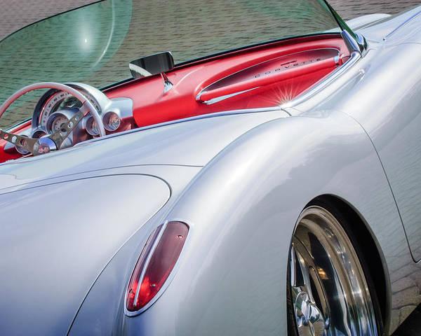 1960 Chevrolet Corvette Poster featuring the photograph 1960 Chevrolet Corvette by Jill Reger