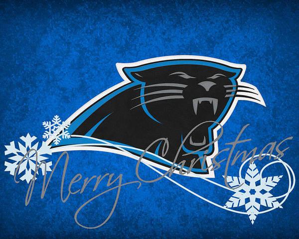 c90dcb8f Carolina Panthers Poster