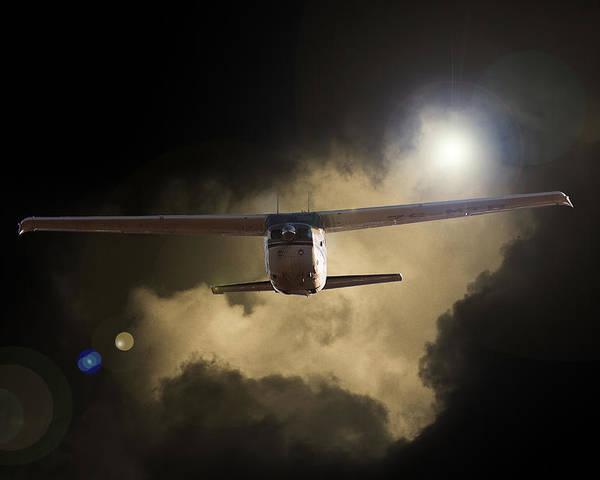Cessna 172 Skyhawk Poster featuring the photograph 172 by Paul Job