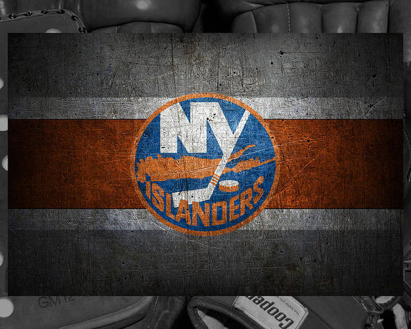 Islanders Poster featuring the photograph New York Islanders by Joe Hamilton