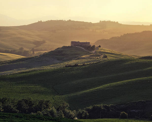 Pienza Poster featuring the photograph Tuscany - Val D'orcia by Joana Kruse