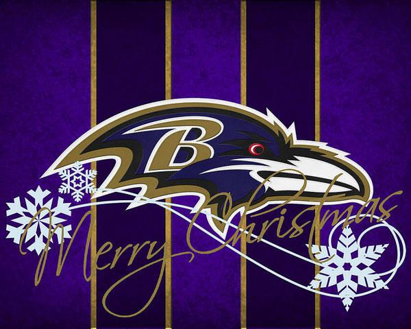 Ravens Poster featuring the photograph Baltimore Ravens by Joe Hamilton